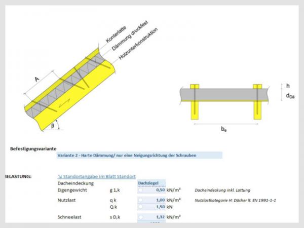 Logiciel de calcul pour systèmes d'isolation de toiture